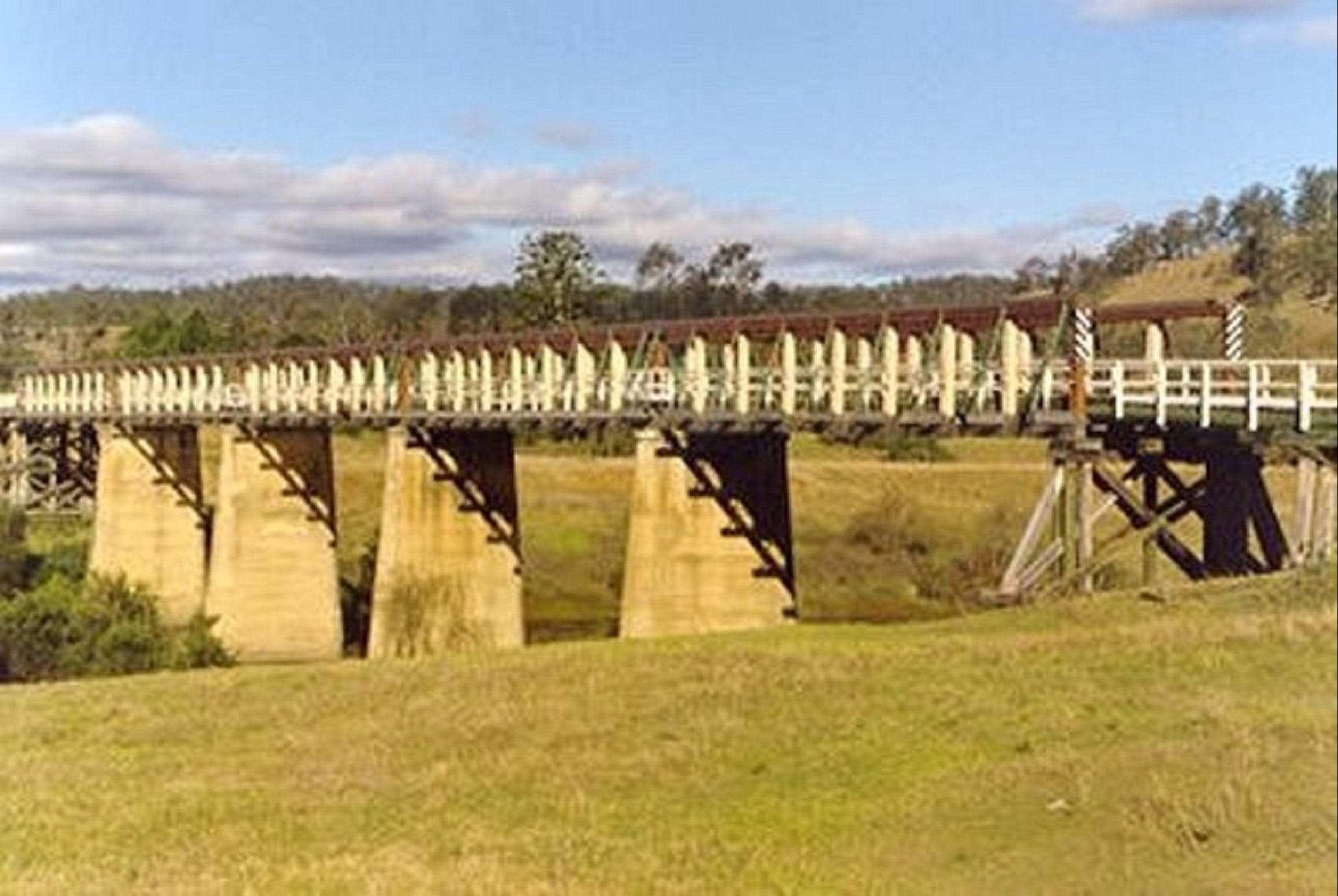 Historic Tabulam DeBurgh Timber Bridge - Accommodation Tasmania