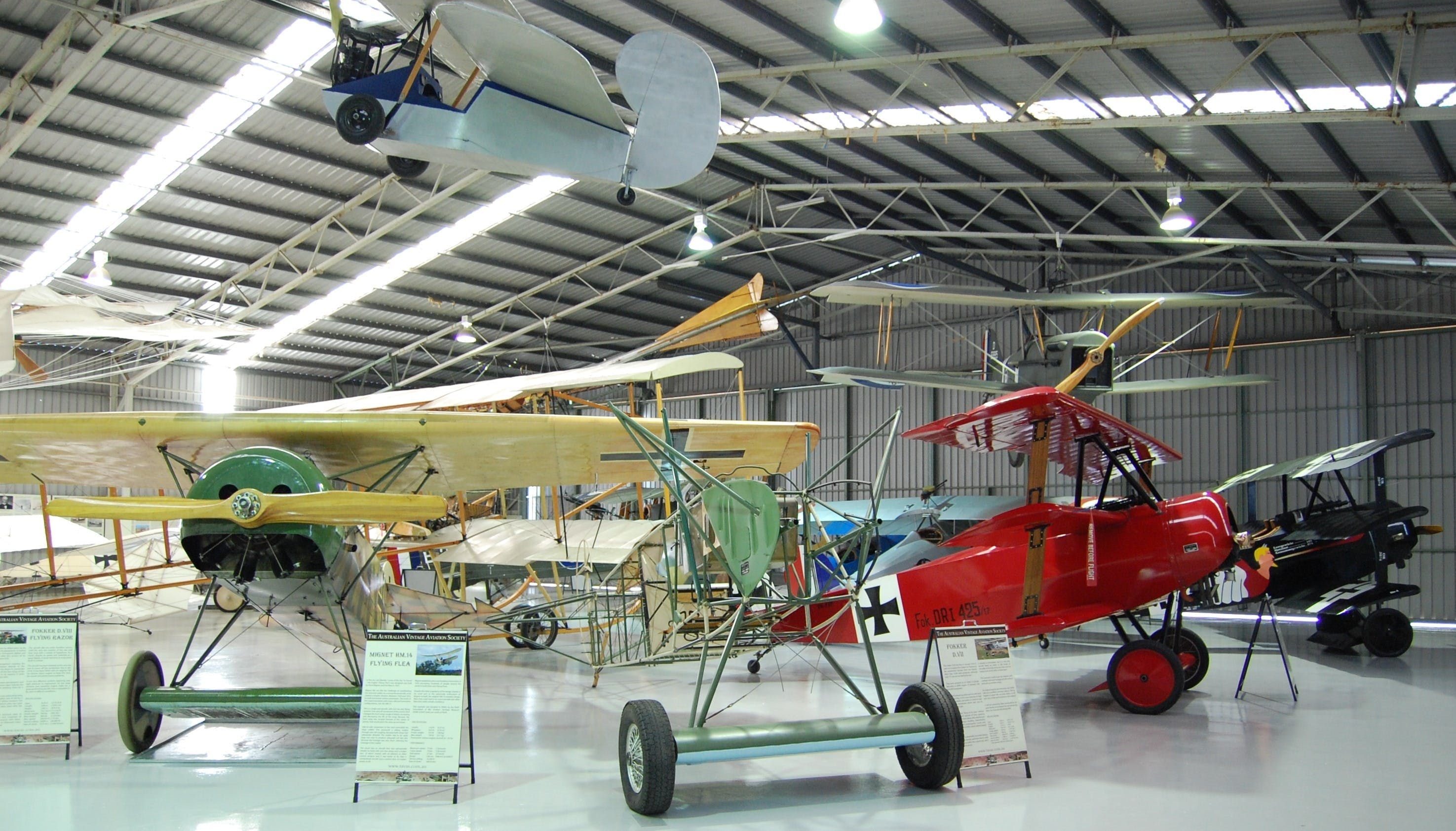 The Australian Vintage Aviation Society Museum - Accommodation Tasmania
