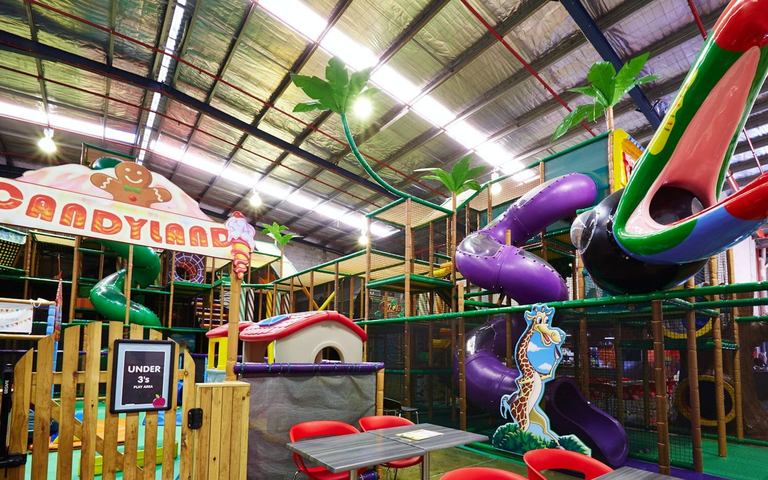 Little Dynamo's indoor play centre and cafe - Accommodation Tasmania