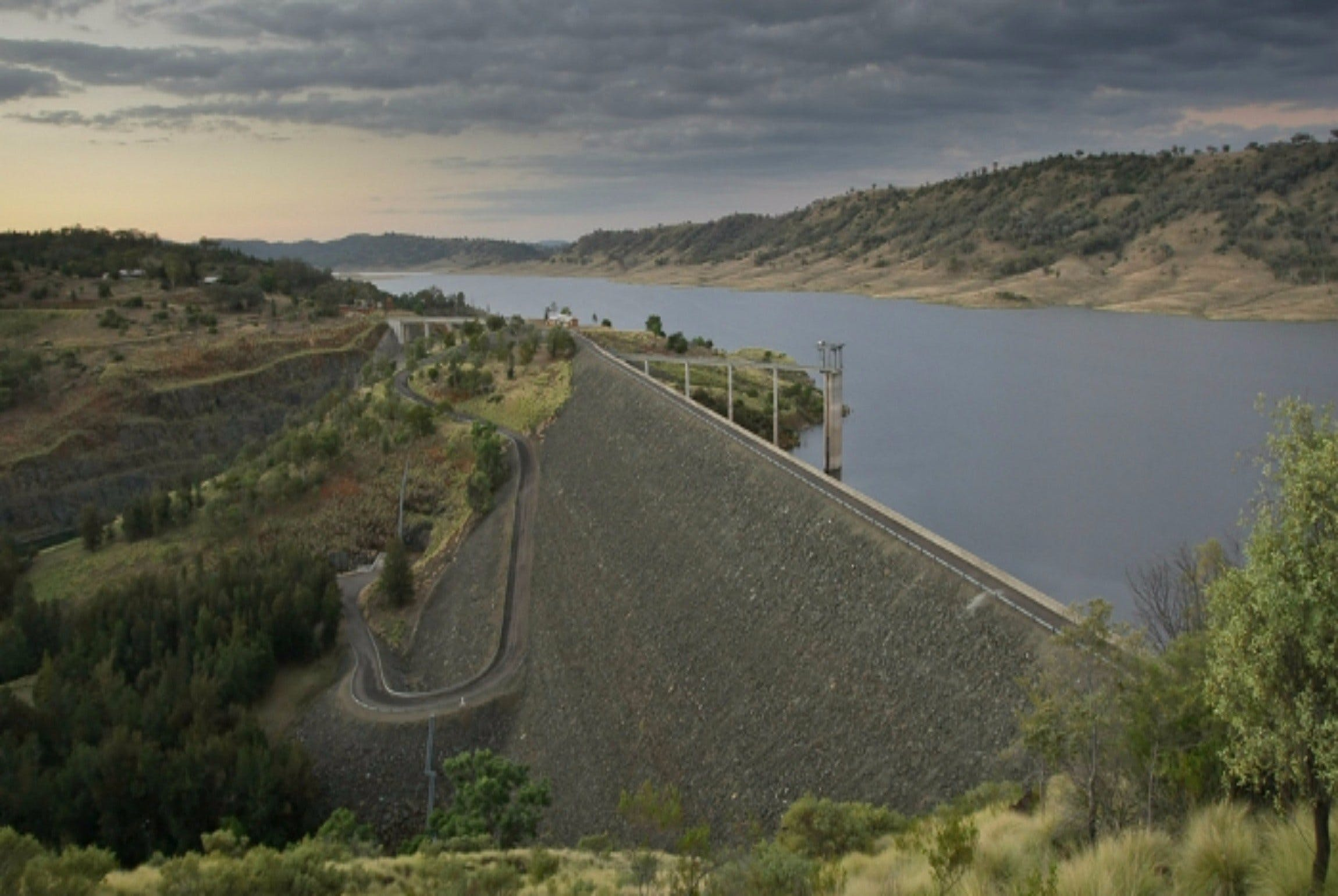 Split Rock Dam - Accommodation Tasmania