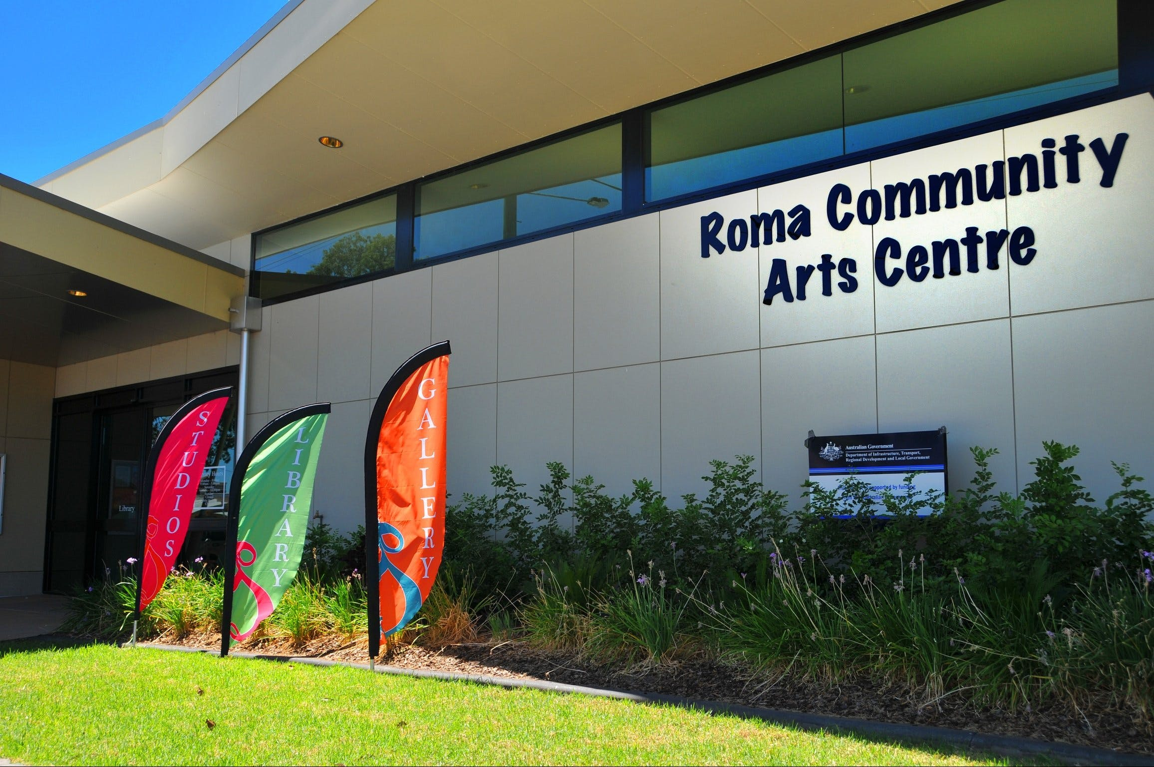Roma on Bungil Art Gallery and the Walk of Art - Accommodation Tasmania