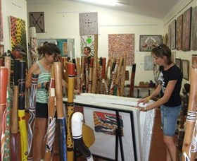 Top Didj and Art Gallery - Accommodation Tasmania