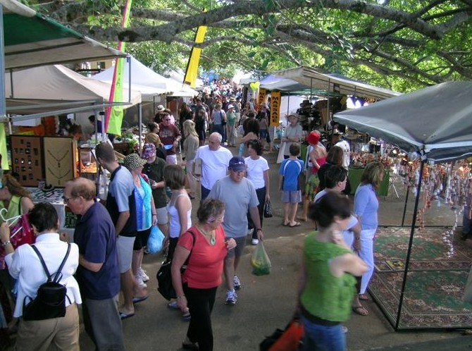 Eumundi Markets - Accommodation Tasmania
