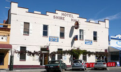Shire Hall Hotel - Accommodation Tasmania
