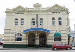 The London Hotel - Accommodation Tasmania