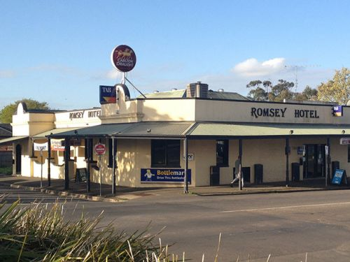 Romsey Hotel - Accommodation Tasmania