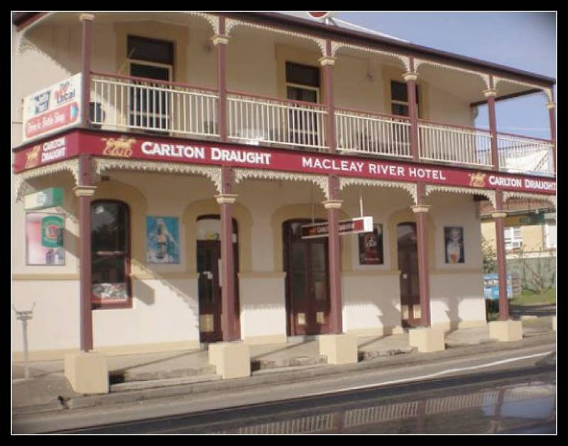 Macleay River Hotel - Accommodation Tasmania