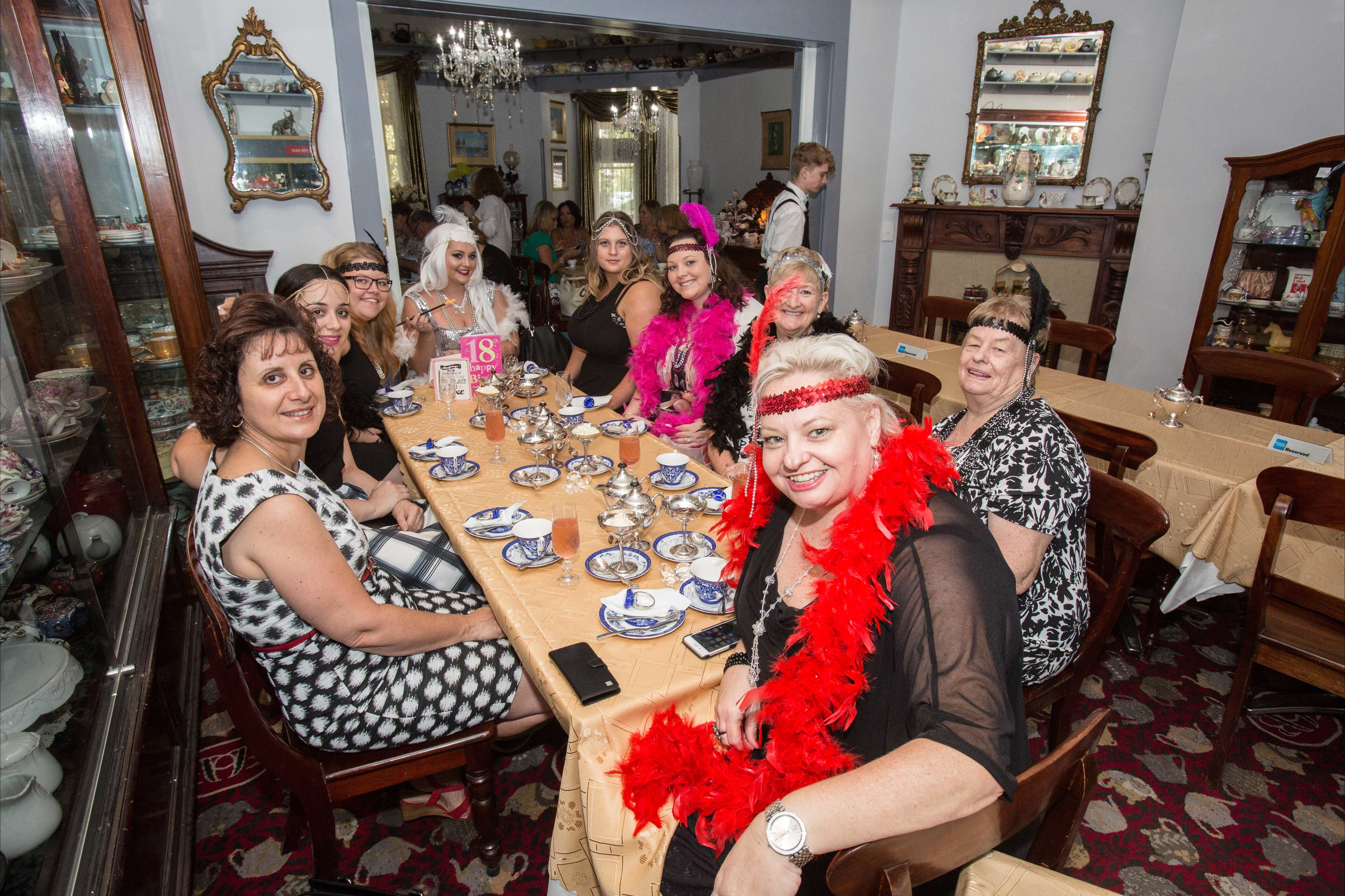 Bygone Beauty's Traditional High Tea Supreme for Good Food Month. - Accommodation Tasmania
