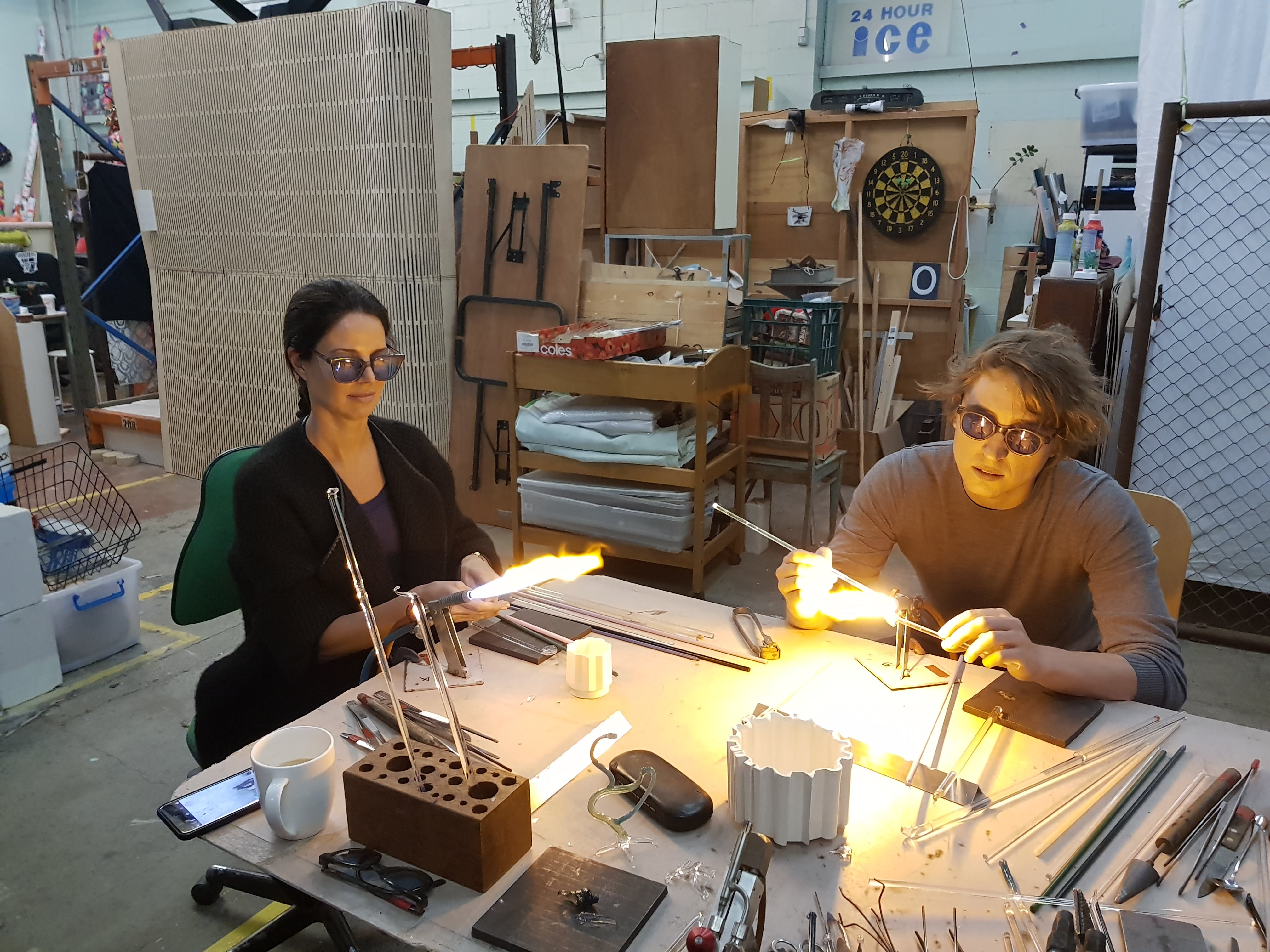 Glass Blowing Beginners Workshop Weekend - Accommodation Tasmania