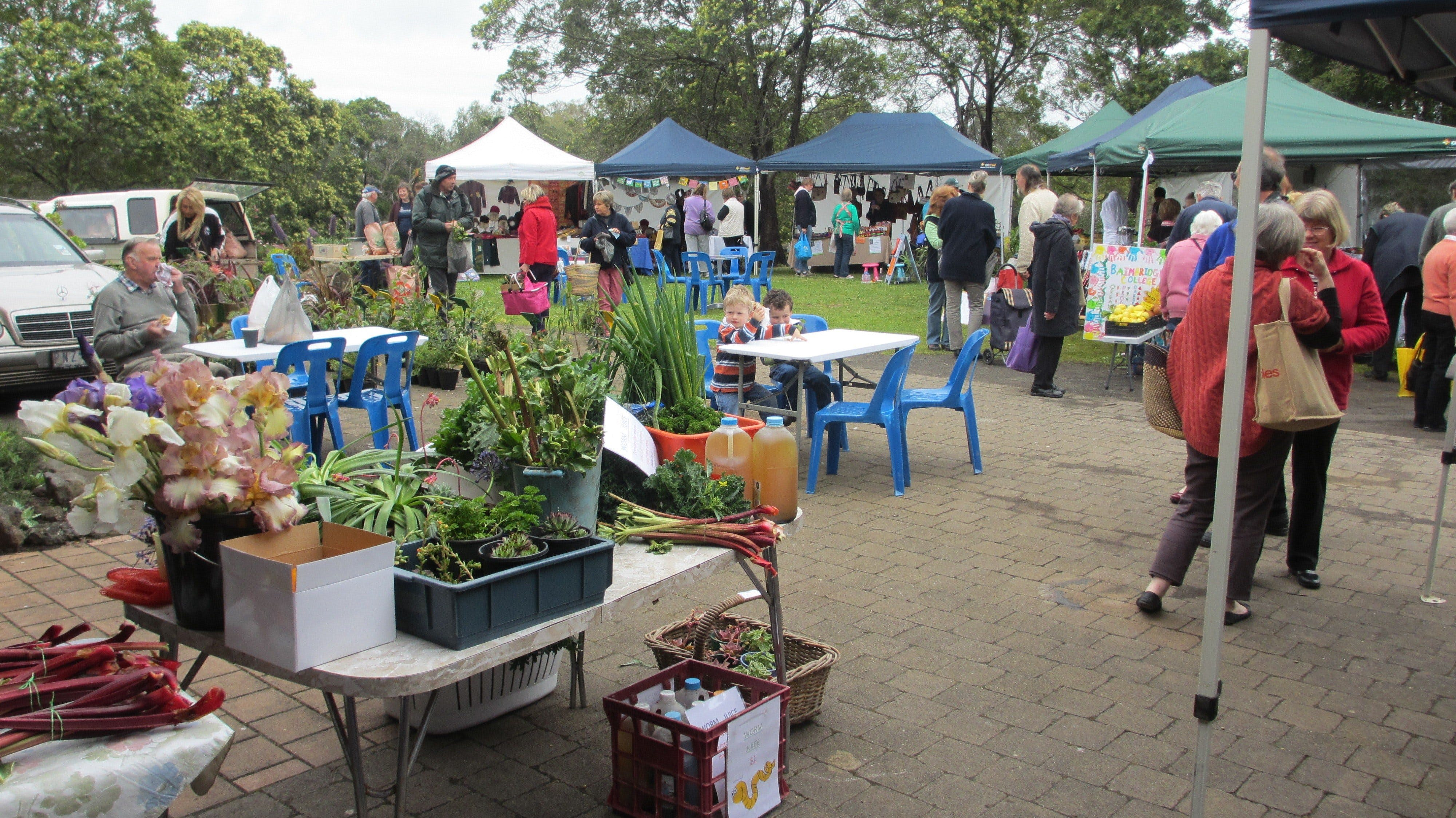Hamilton HIRL Farmers and Craft Market - Accommodation Tasmania