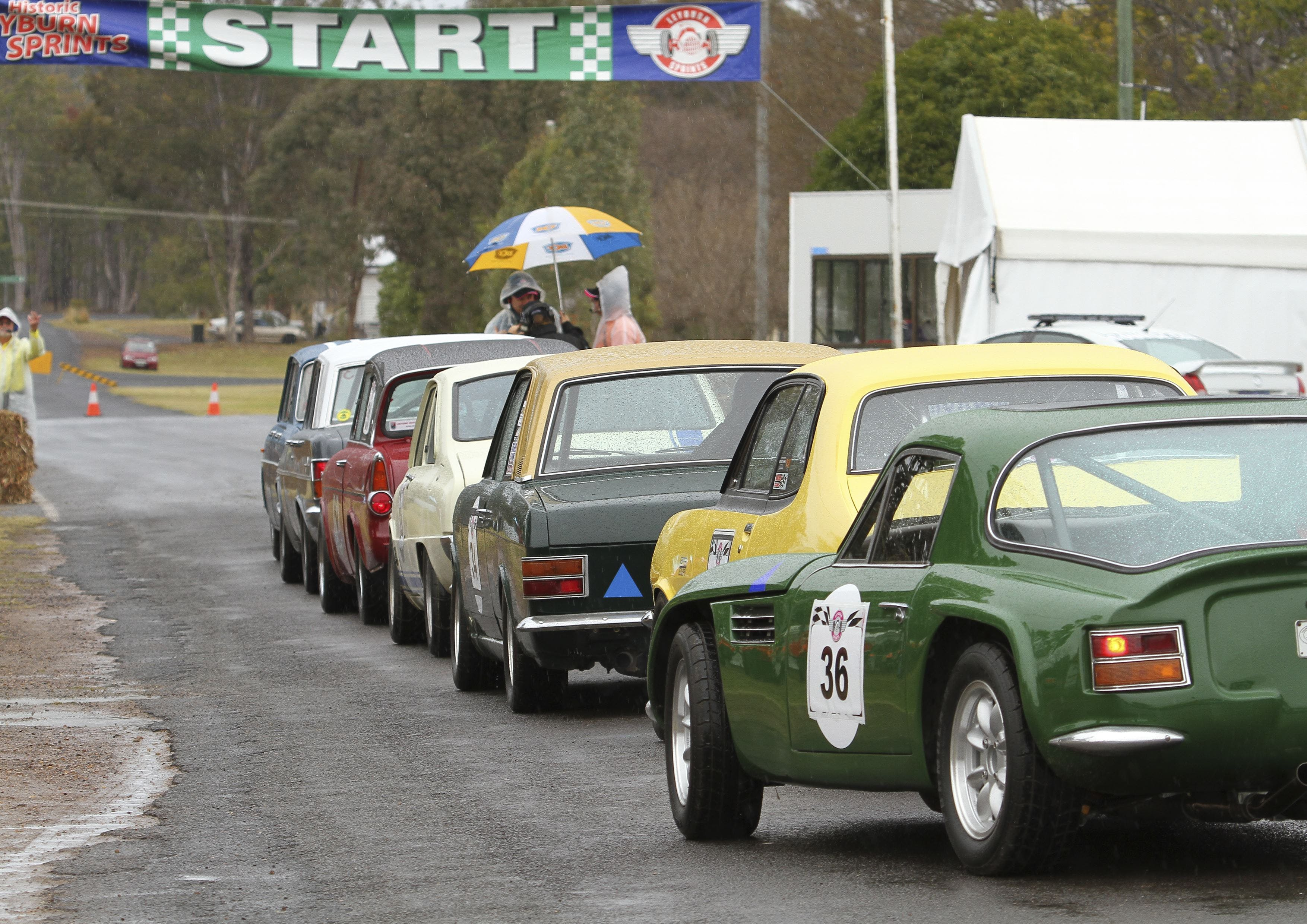 Historic Leyburn Sprints - Accommodation Tasmania
