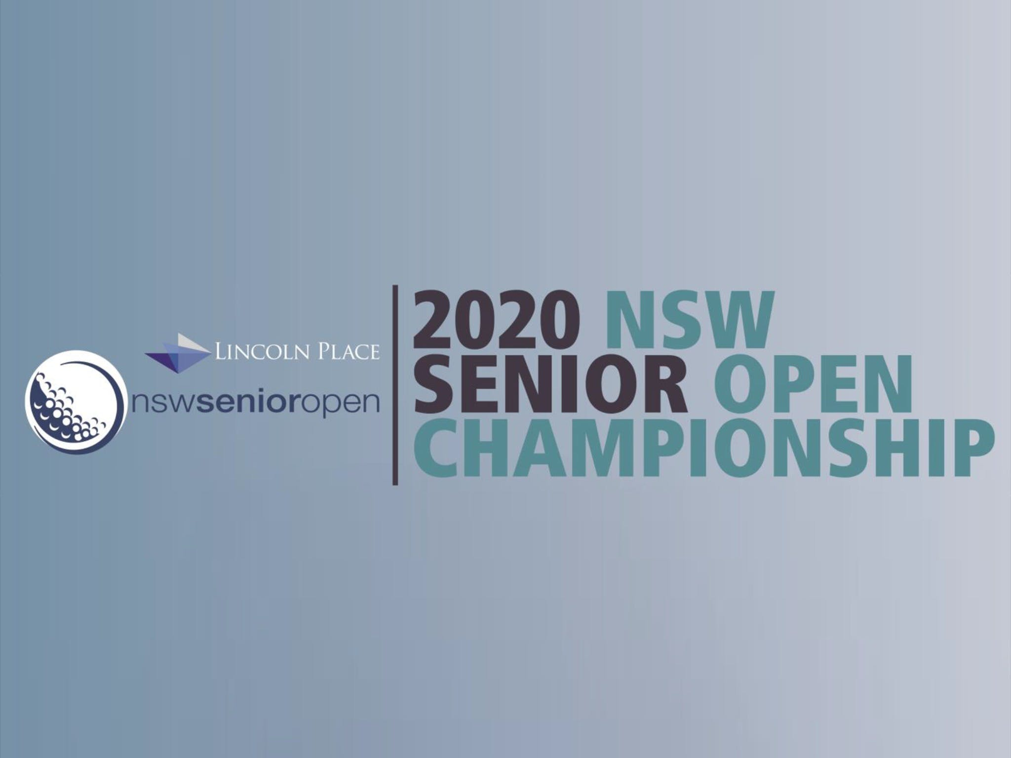 Men's NSW Senior Open - Accommodation Tasmania