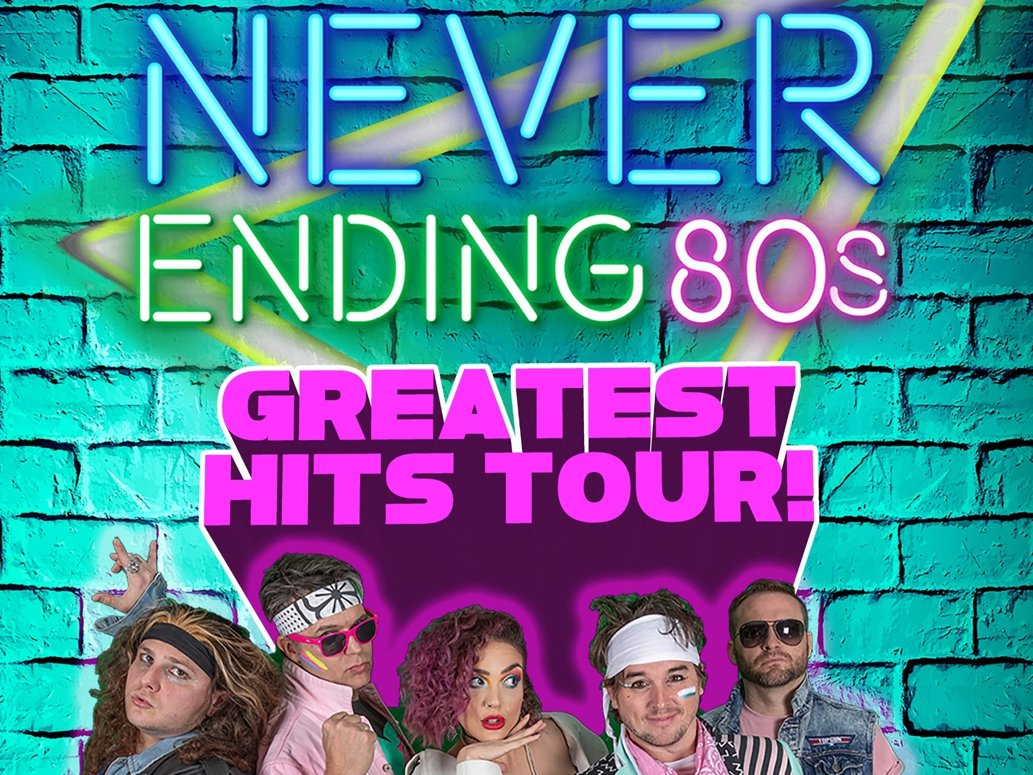 Never Ending 80s - The Greatest Hits Tour - Accommodation Tasmania
