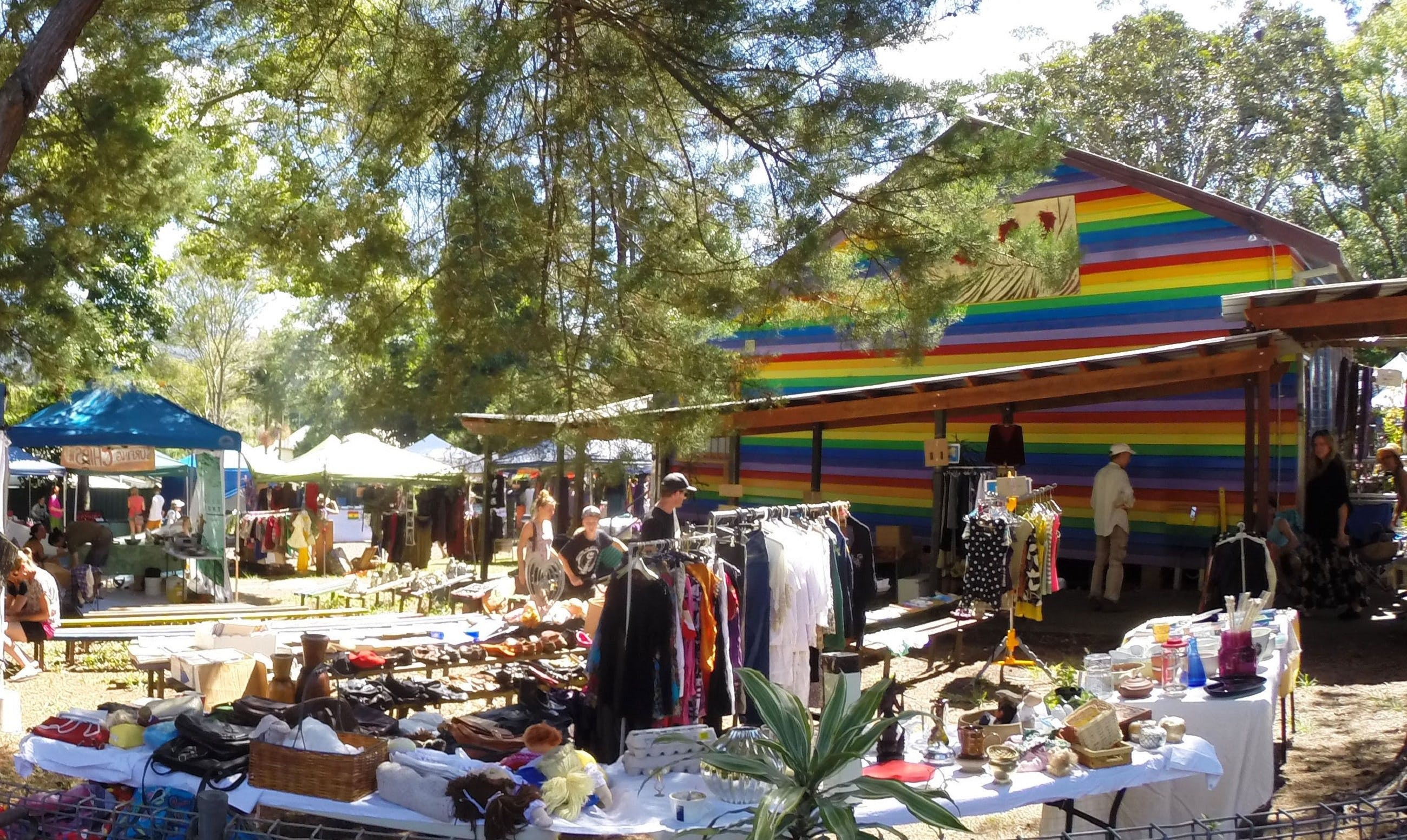 Nimbin Markets - Accommodation Tasmania