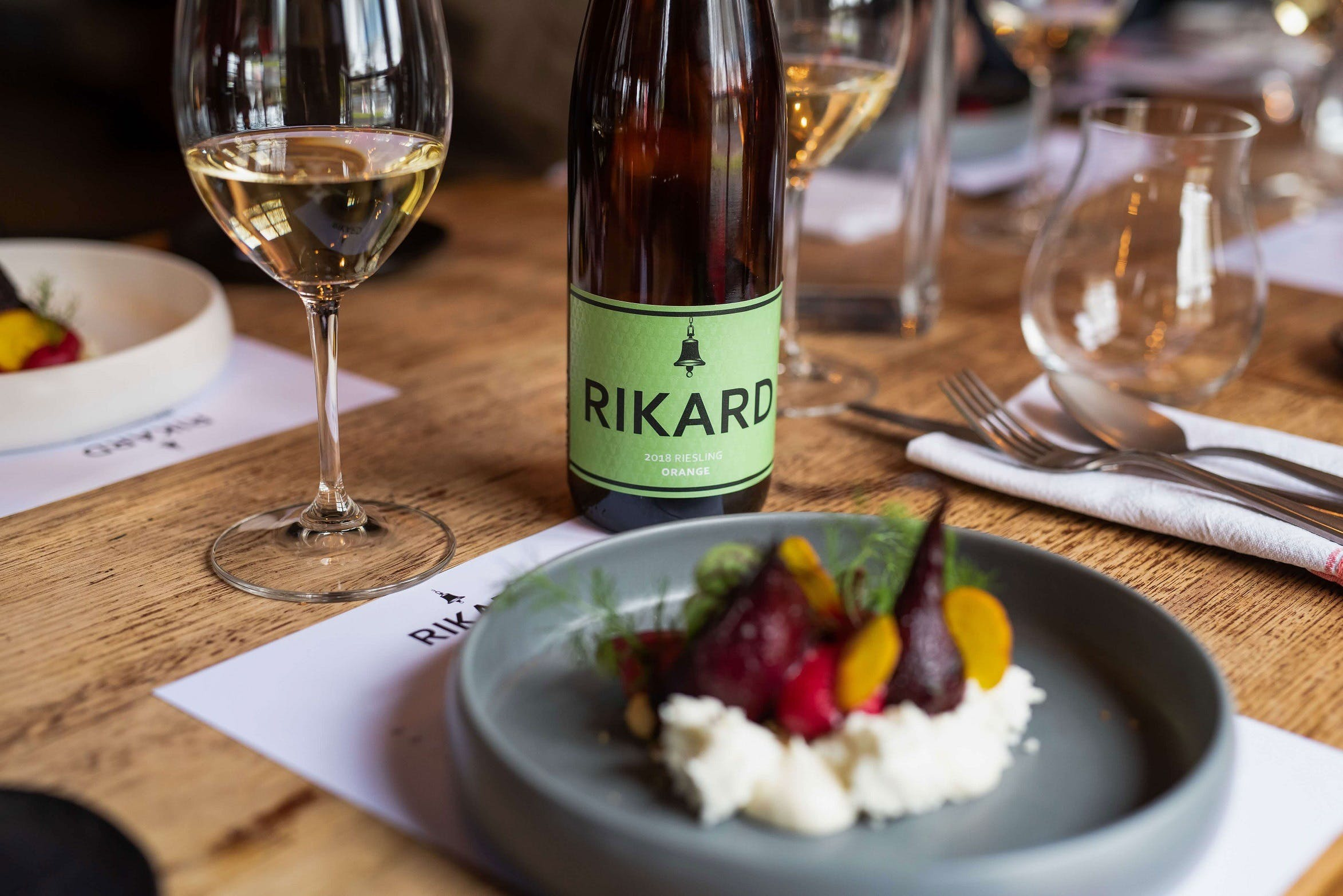 RIKARD Wines at Charred - Accommodation Tasmania