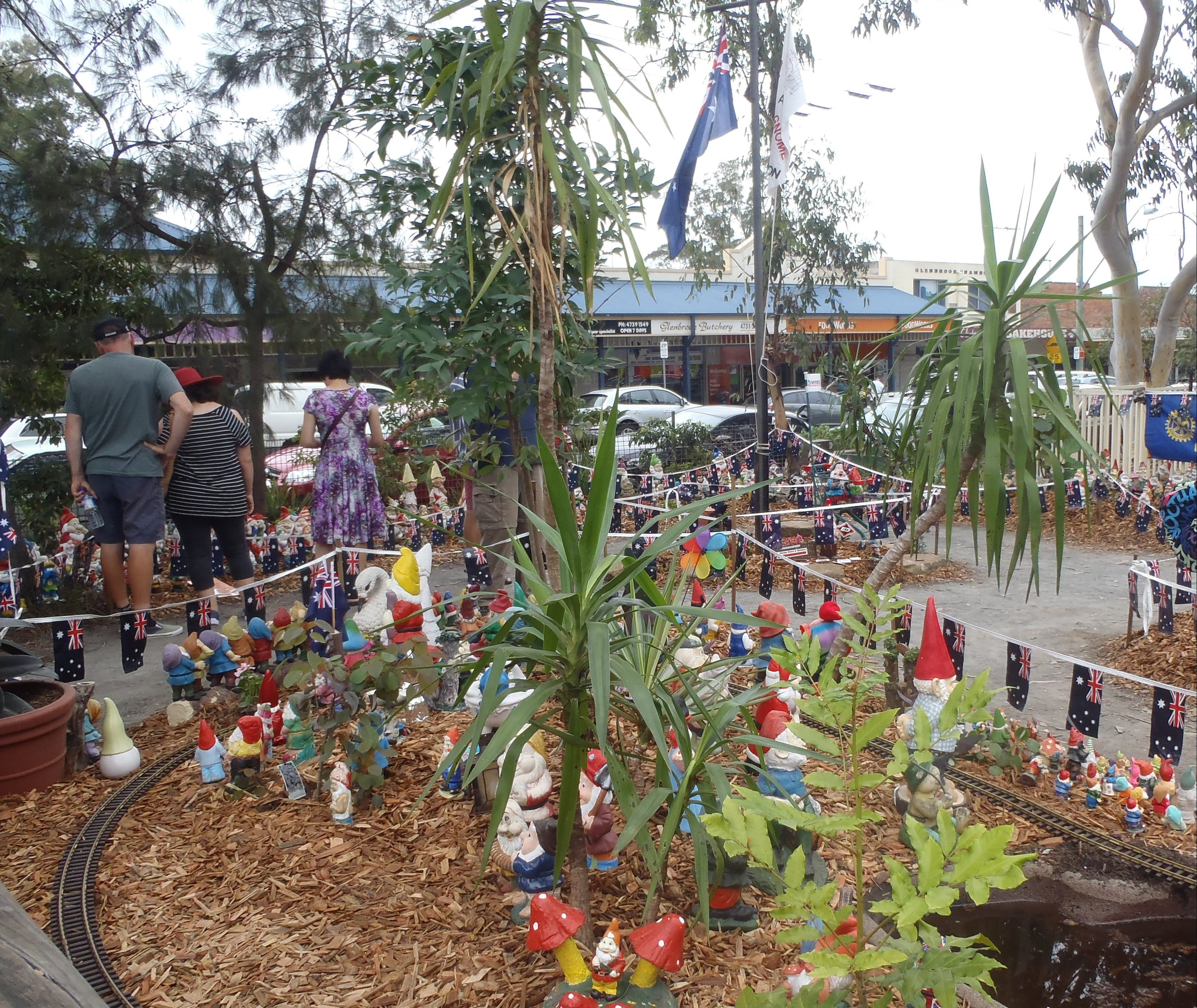 Australia Day with the Australian Gnome Convention Glenbrook - Accommodation Tasmania