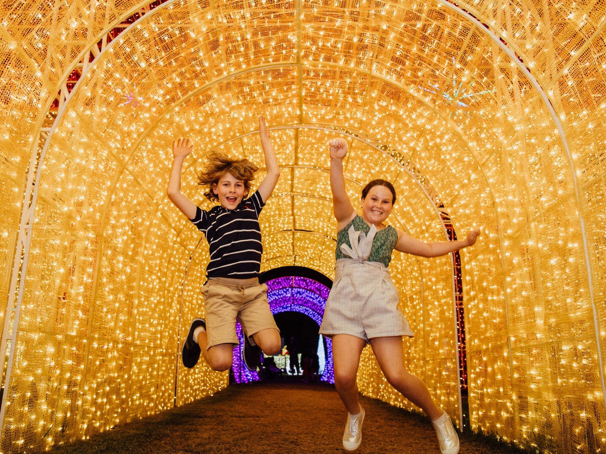 Christmas Lights Spectacular New Year's Eve at Hunter Valley Gardens - Accommodation Tasmania