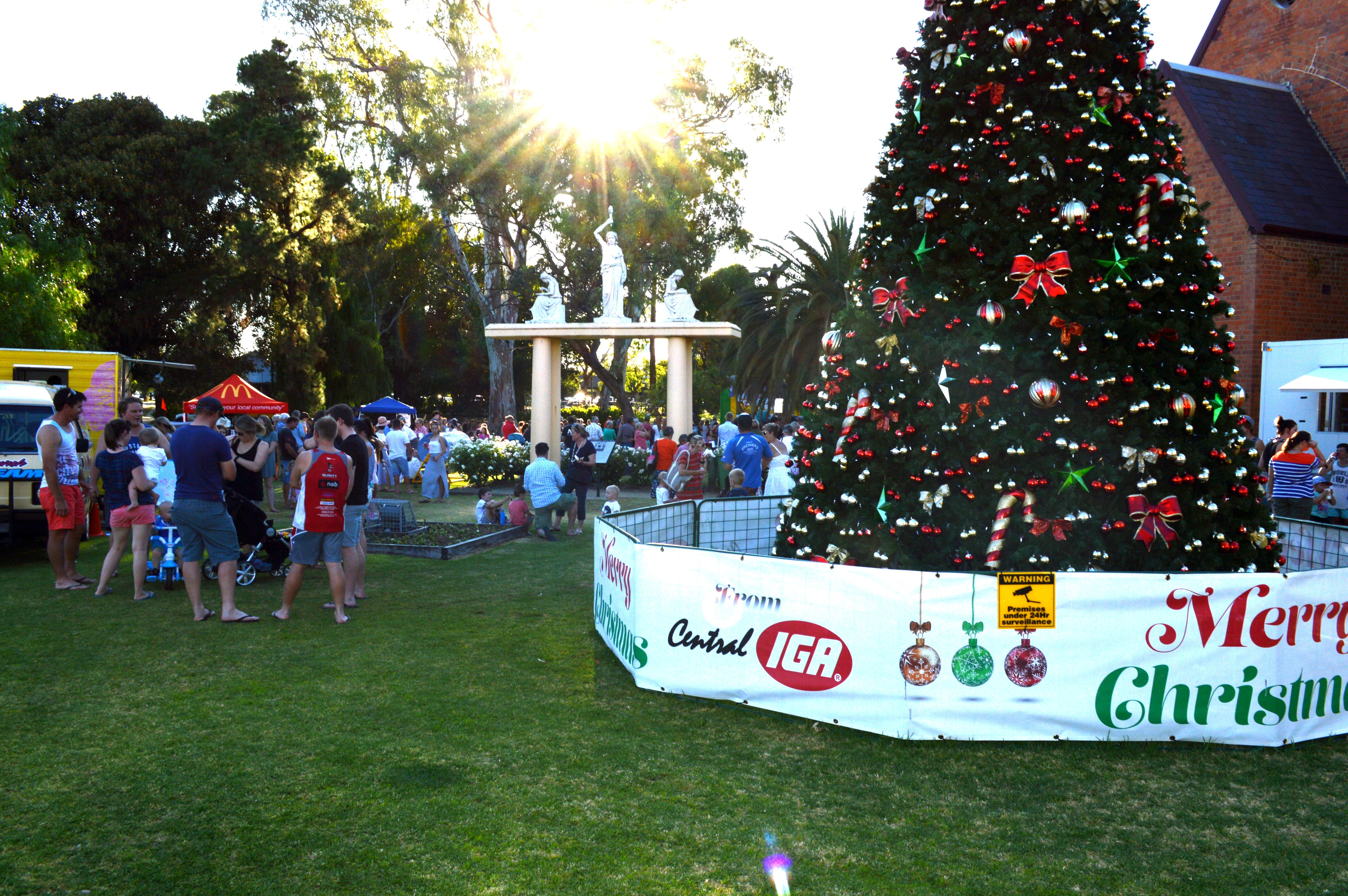 Community Christmas Party and Carols by Candlelight - Accommodation Tasmania