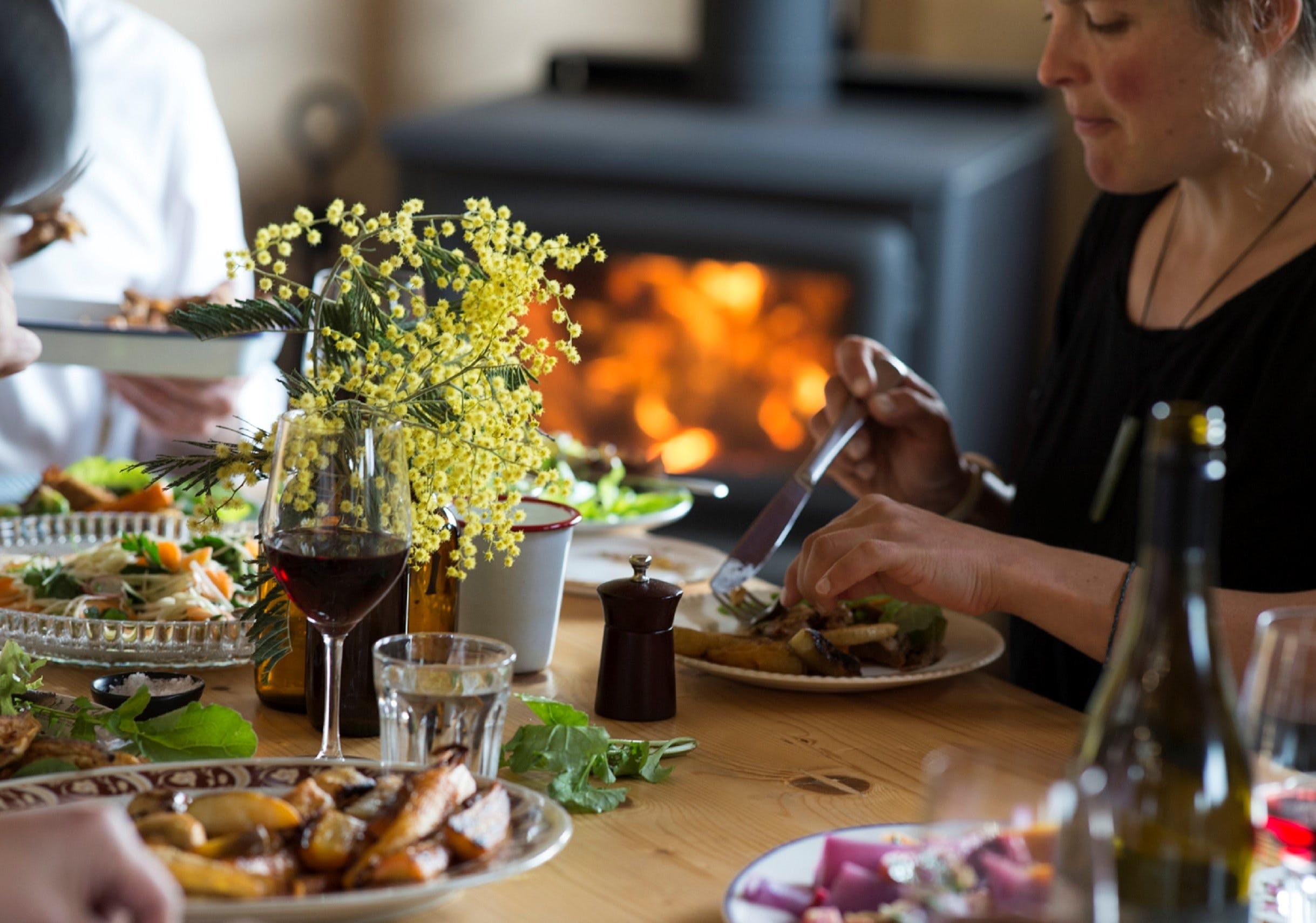 Feast at Fat Pig Farm - Accommodation Tasmania