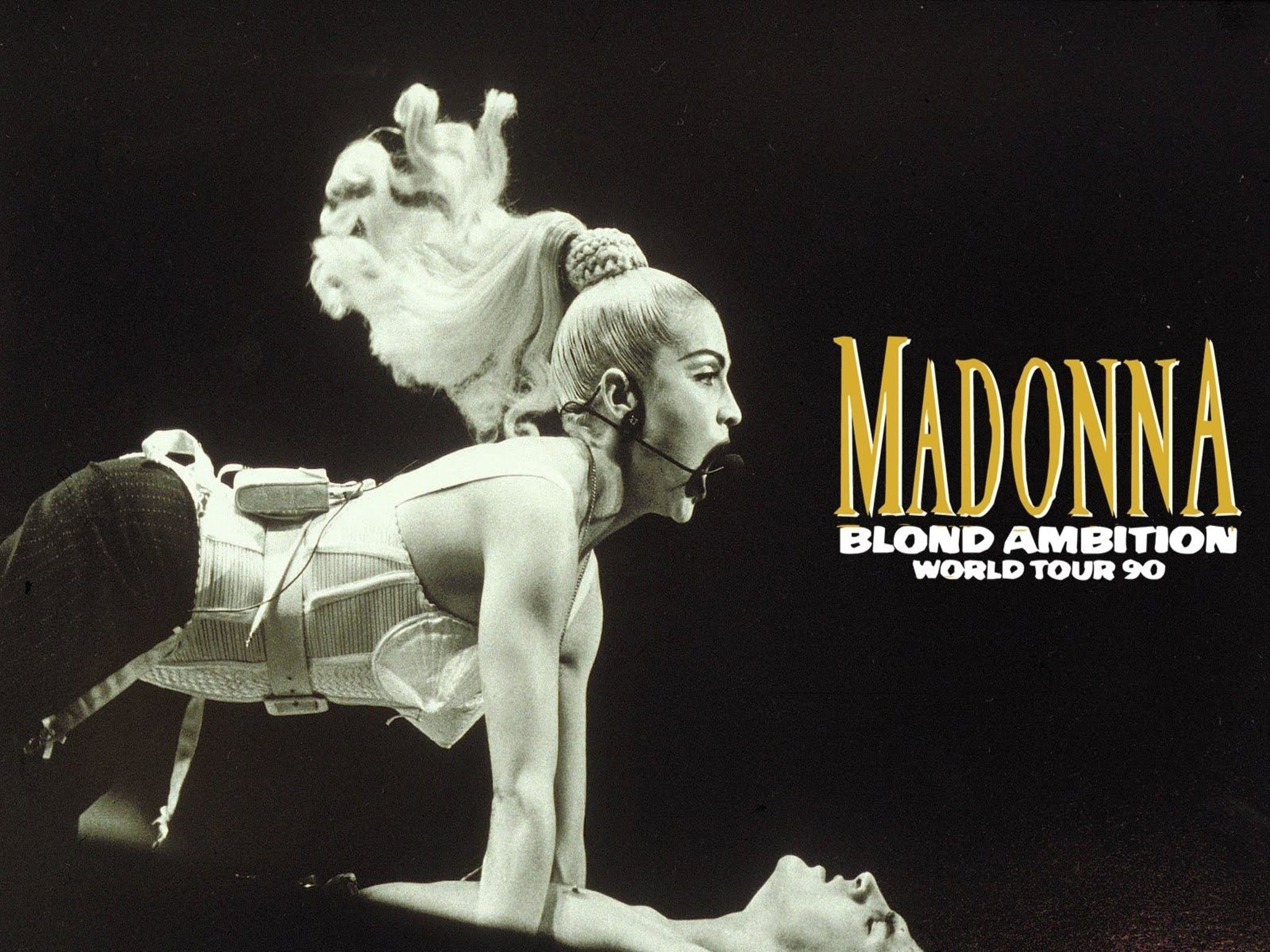 Madonna Blond Ambition Tour - Accommodation Tasmania