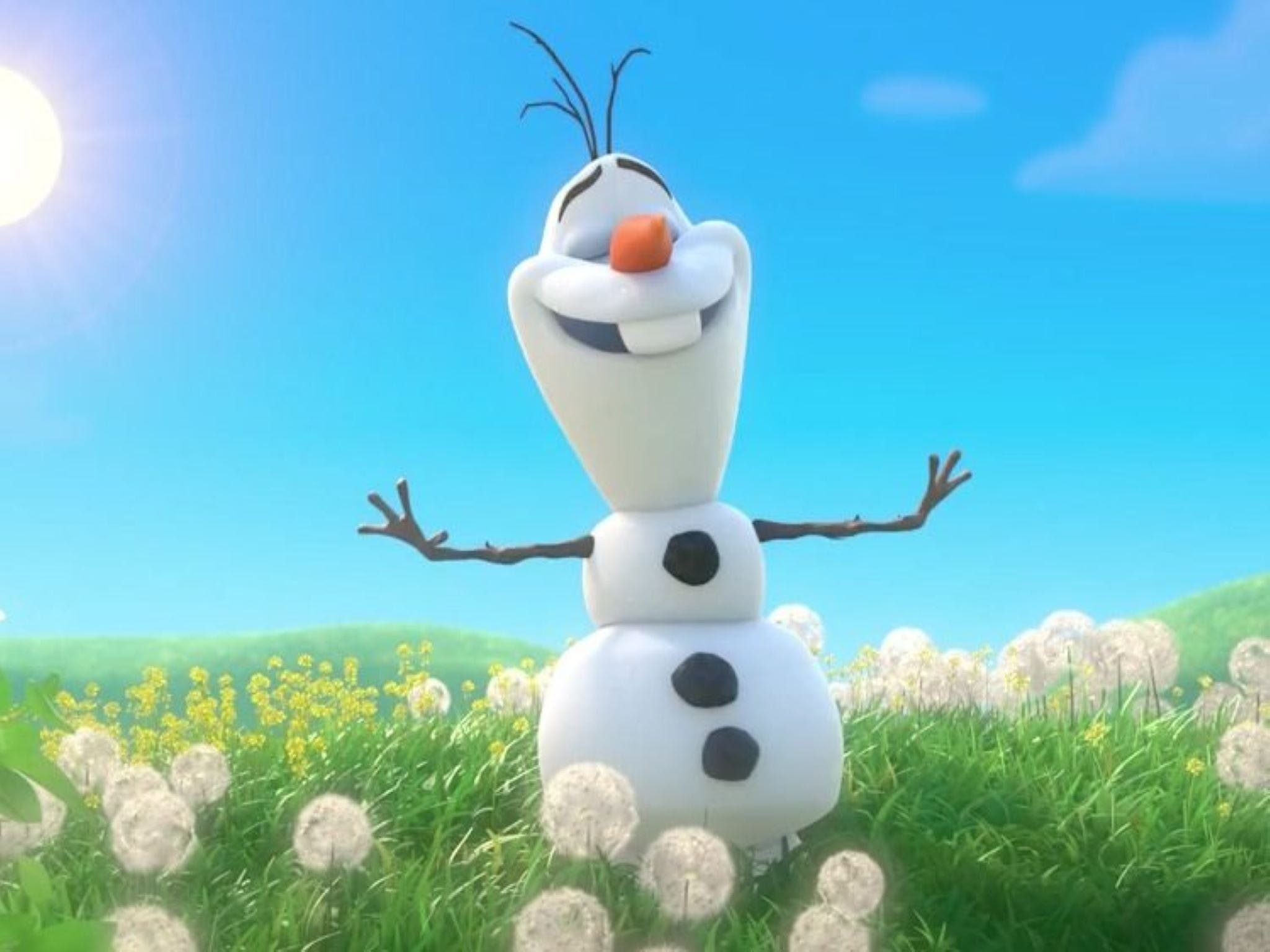 Meet Olaf from Frozen - Accommodation Tasmania