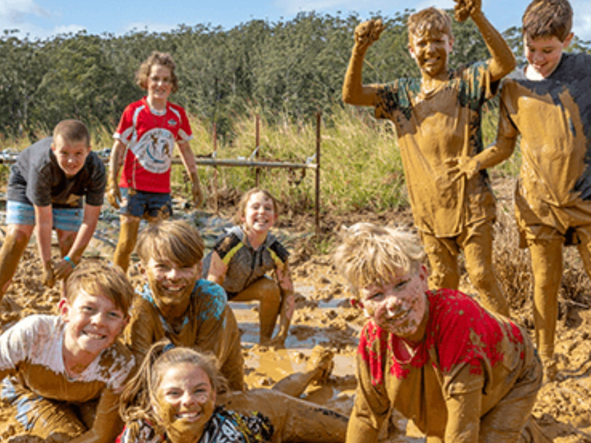 Mini Muddies Obstacle Challenge at Bunnamagoo Estate - Accommodation Tasmania