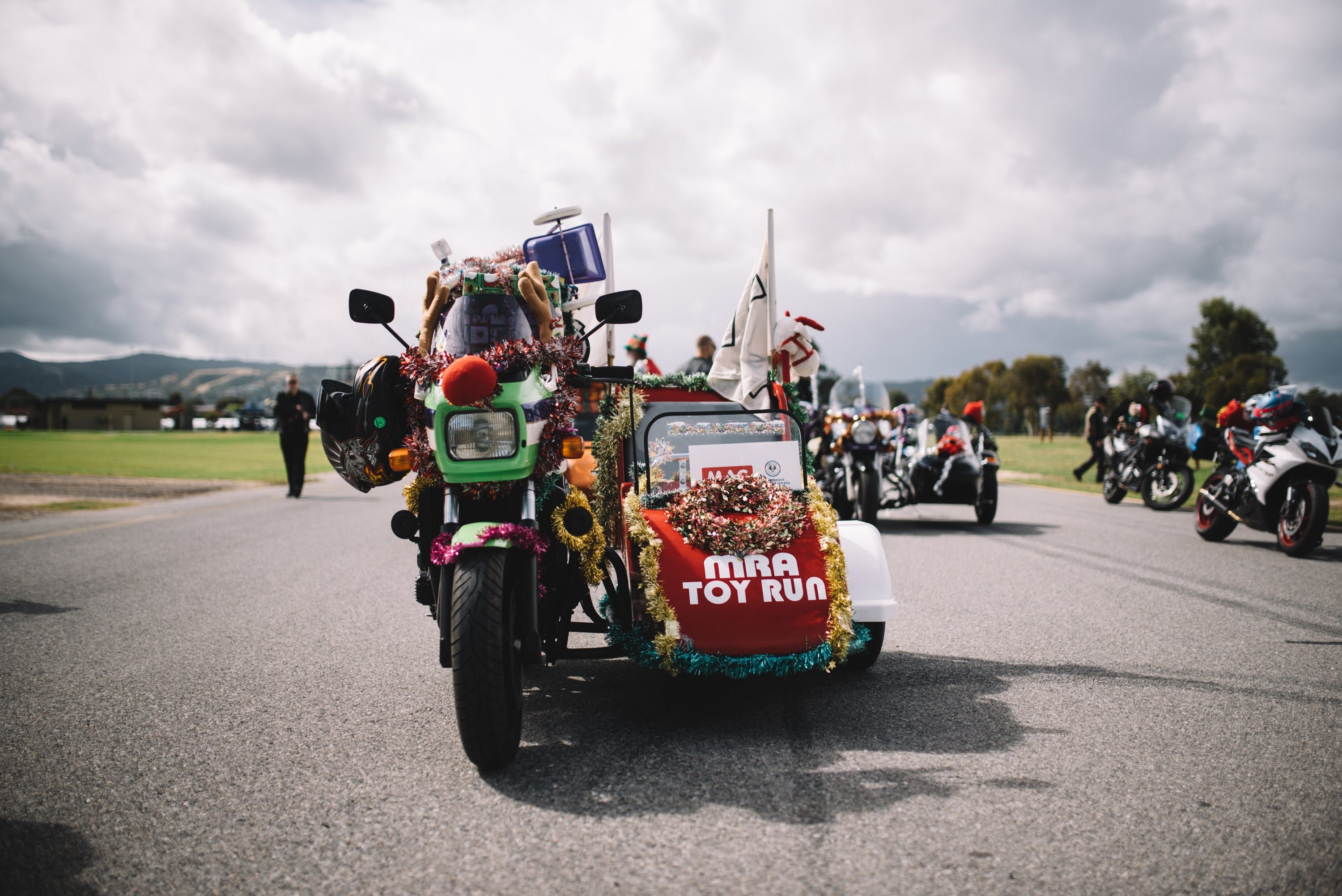 Motorcycle Riders' Association of South Australia Toy Run - Accommodation Tasmania