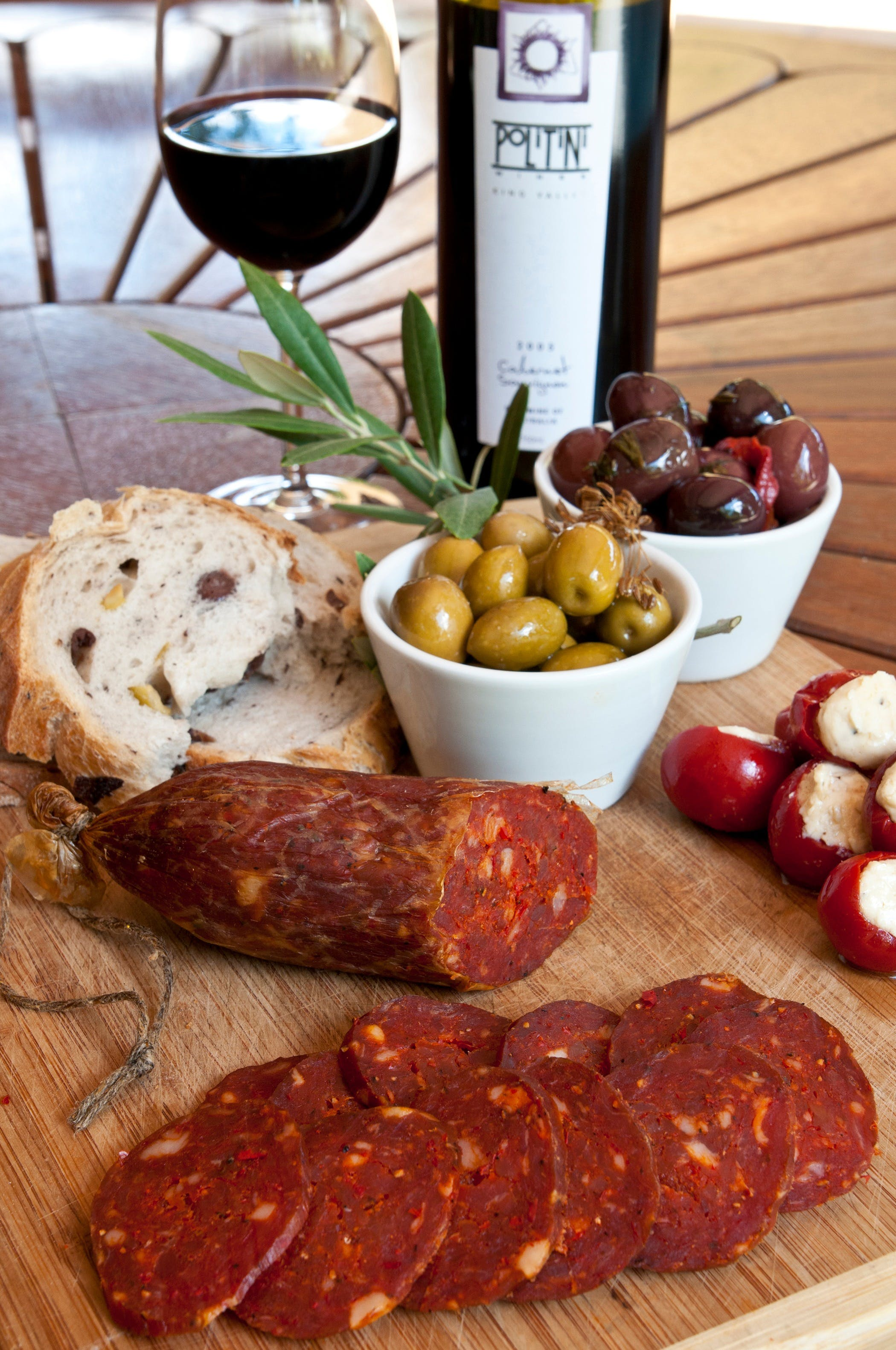 Salami and Salsicce Making classes at Politini Wines - Accommodation Tasmania