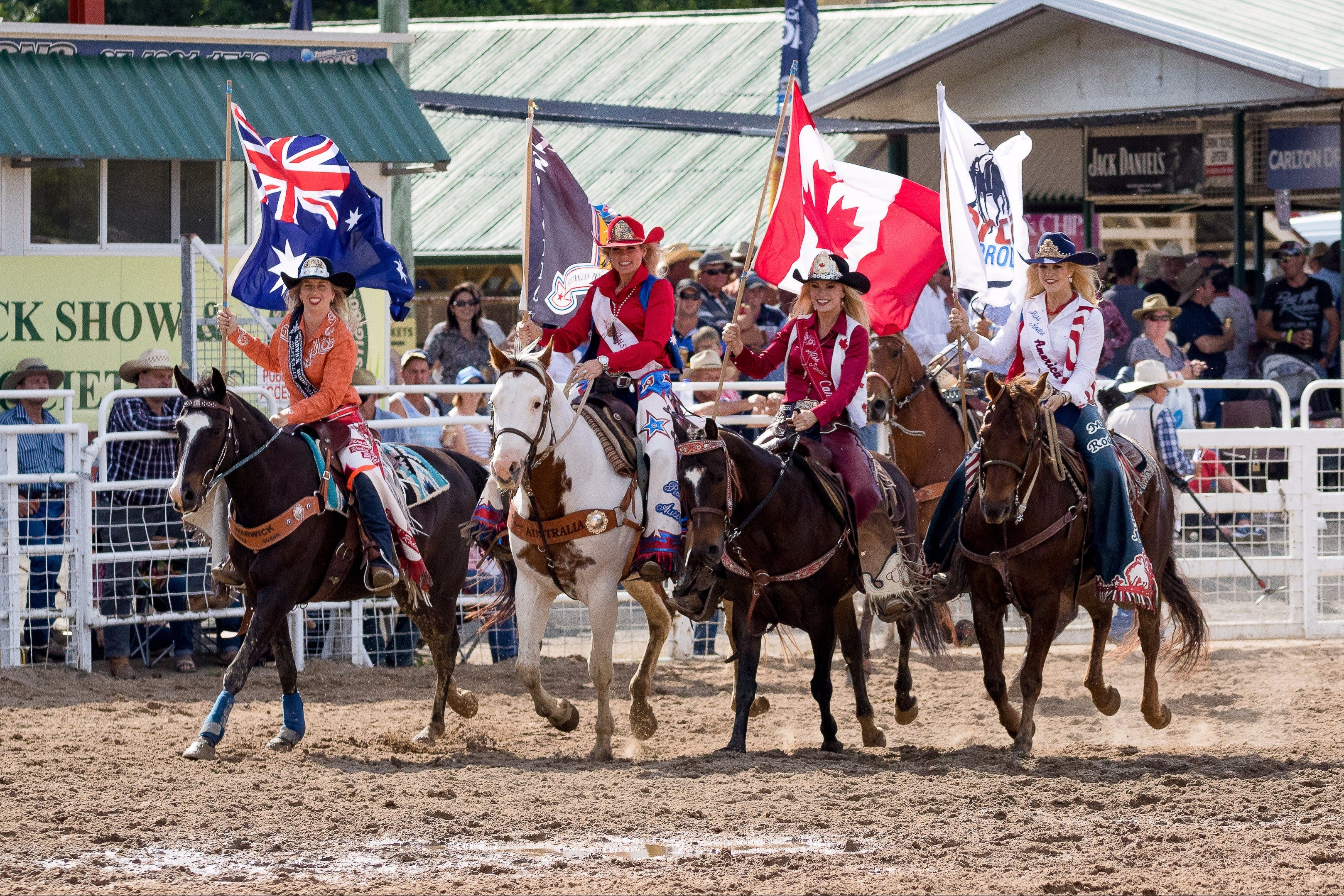 Warwick Rodeo National APRA National Finals and Warwick Gold Cup Campdraft - Accommodation Tasmania