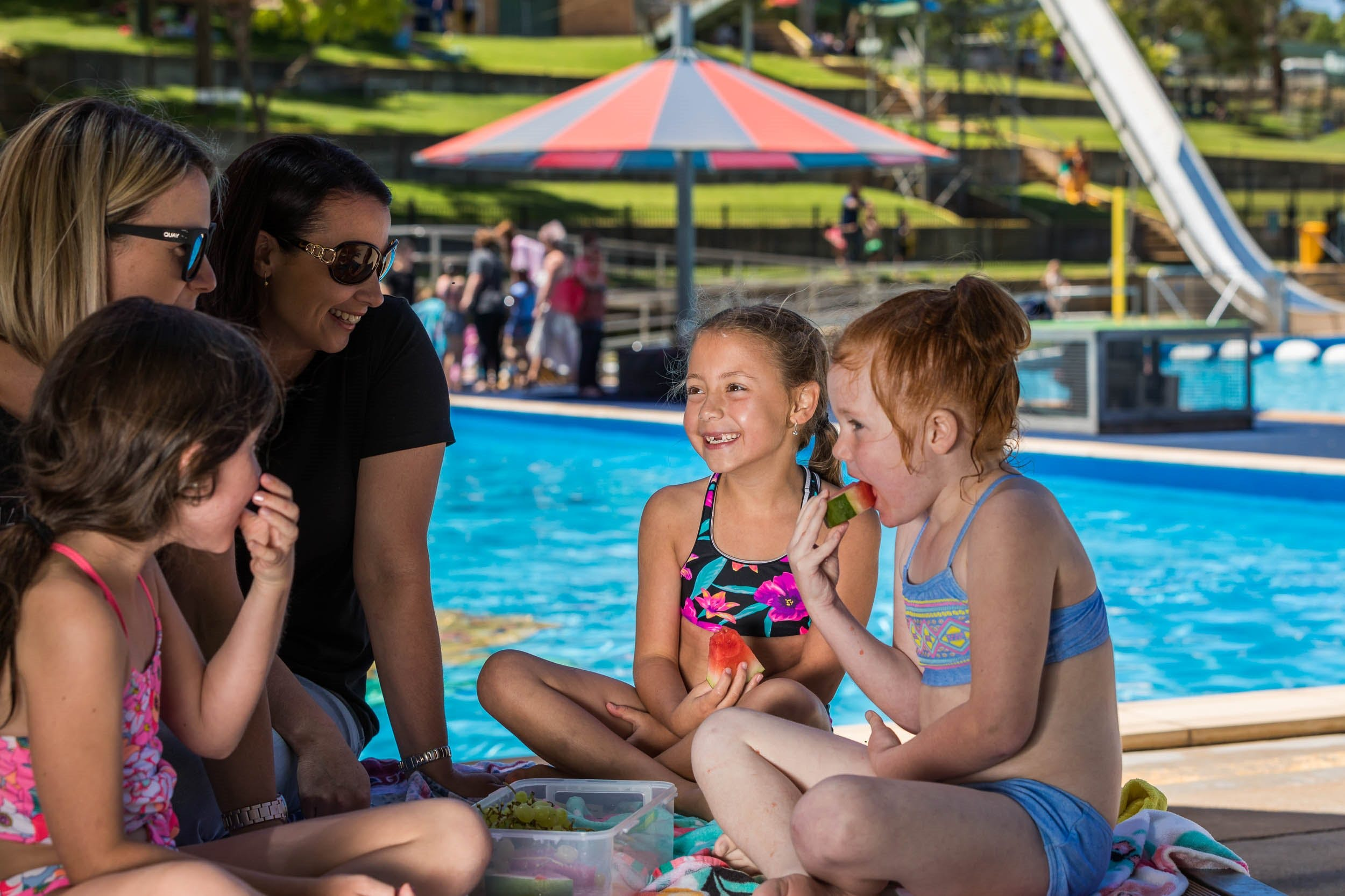 Australia Day fun at Lake Talbot Water Park - Accommodation Tasmania