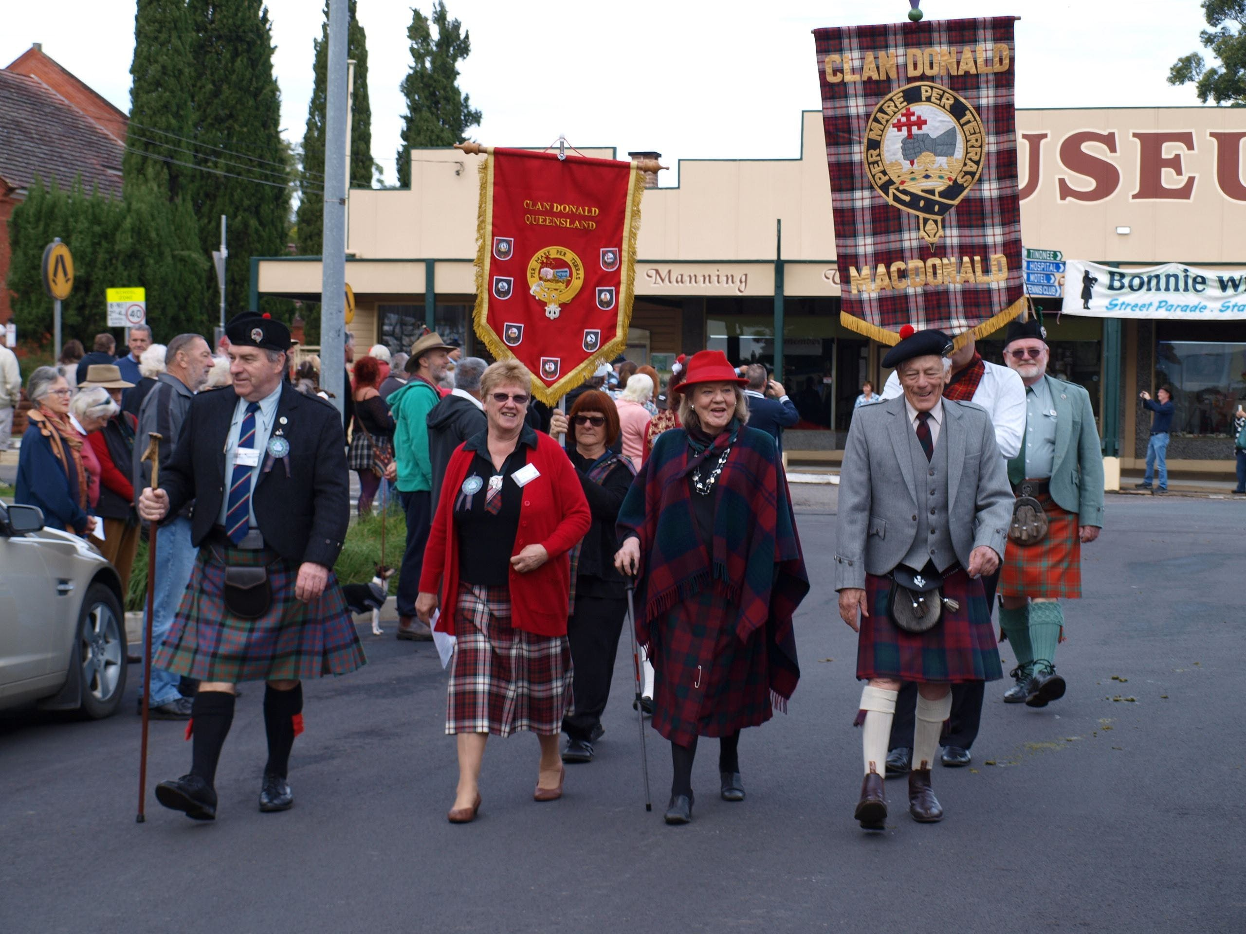 Bonnie Wingham Scottish Festival - Accommodation Tasmania