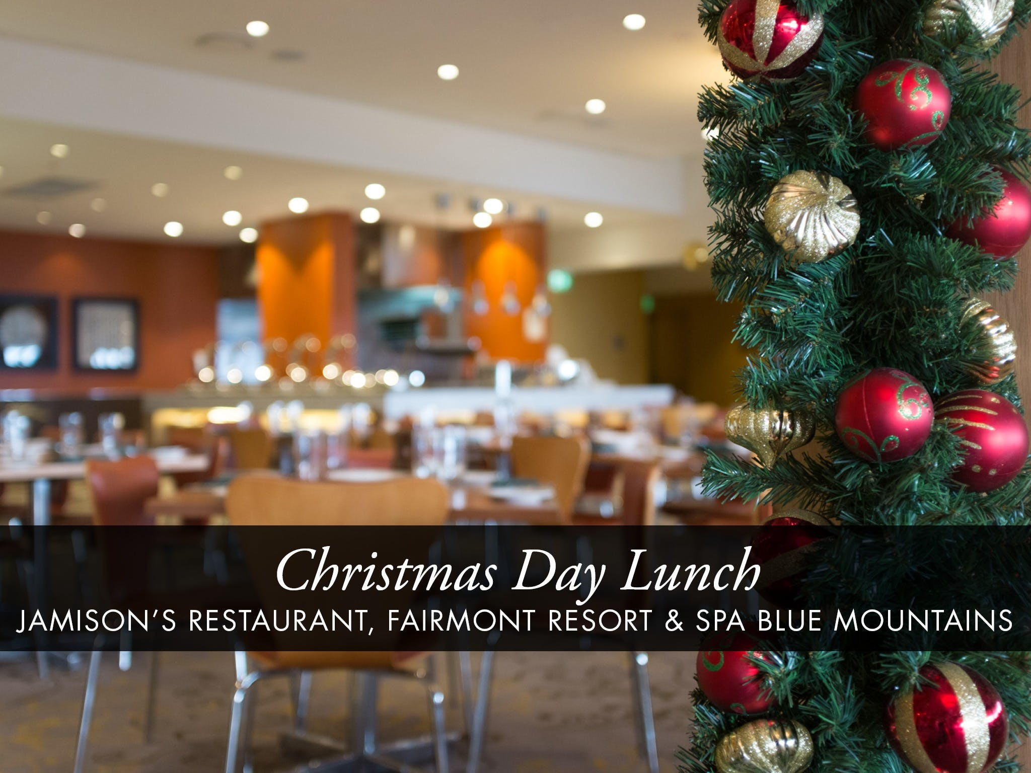 Christmas Day Buffet Lunch at Jamison's Restaurant - Accommodation Tasmania