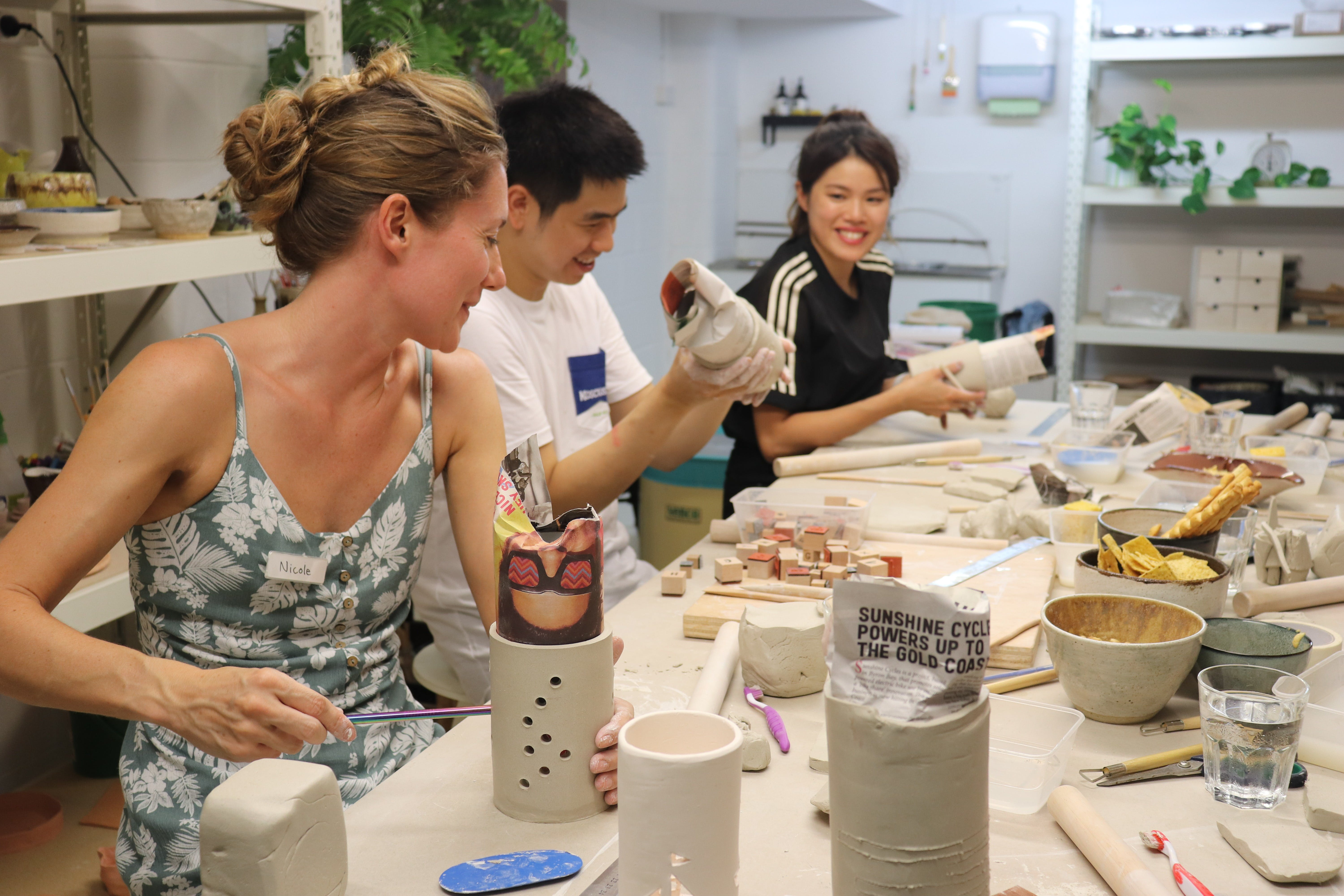 Hand Building Pottery Classes - Accommodation Tasmania
