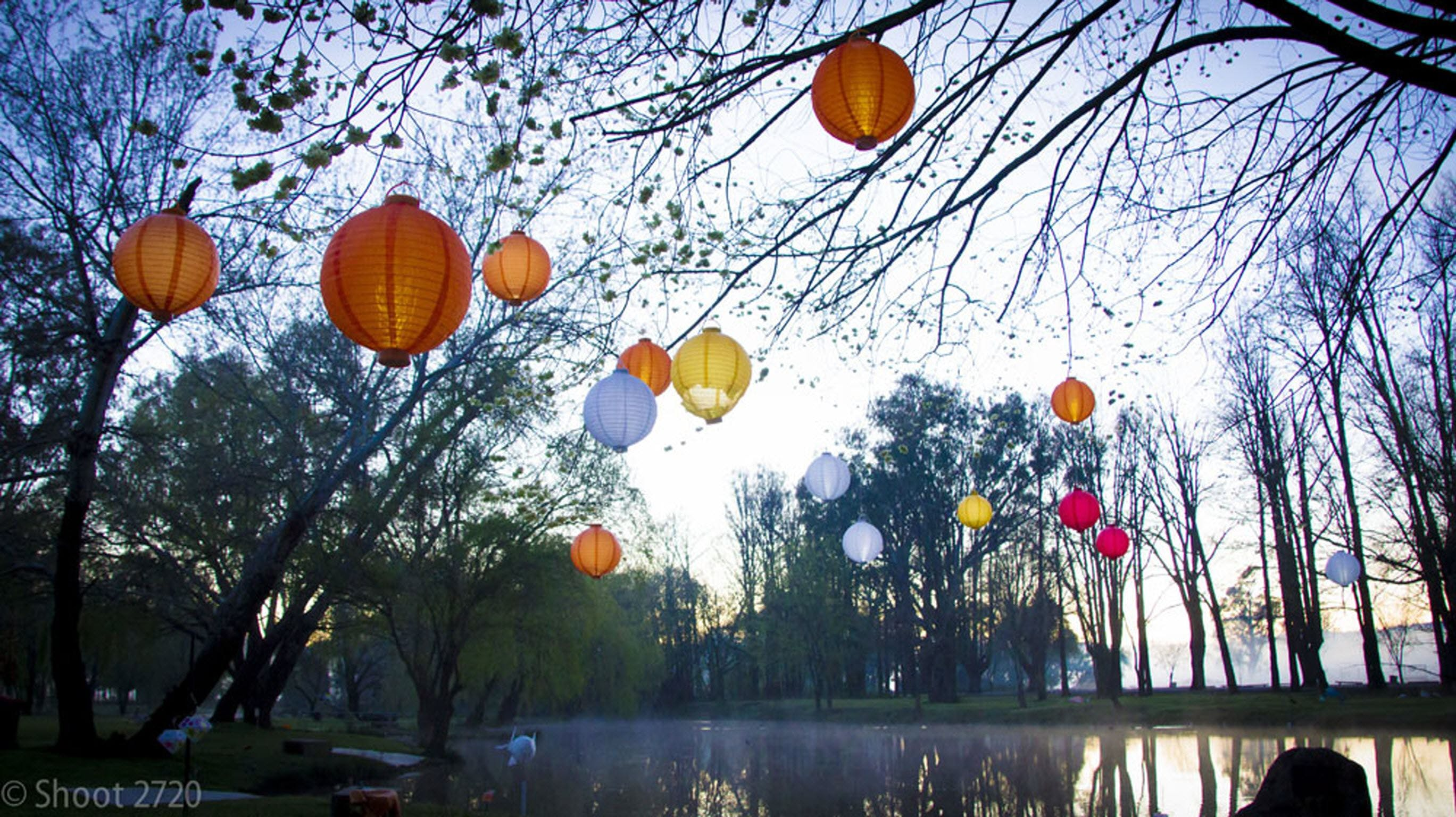 Lanterns on the Lagoon - Accommodation Tasmania