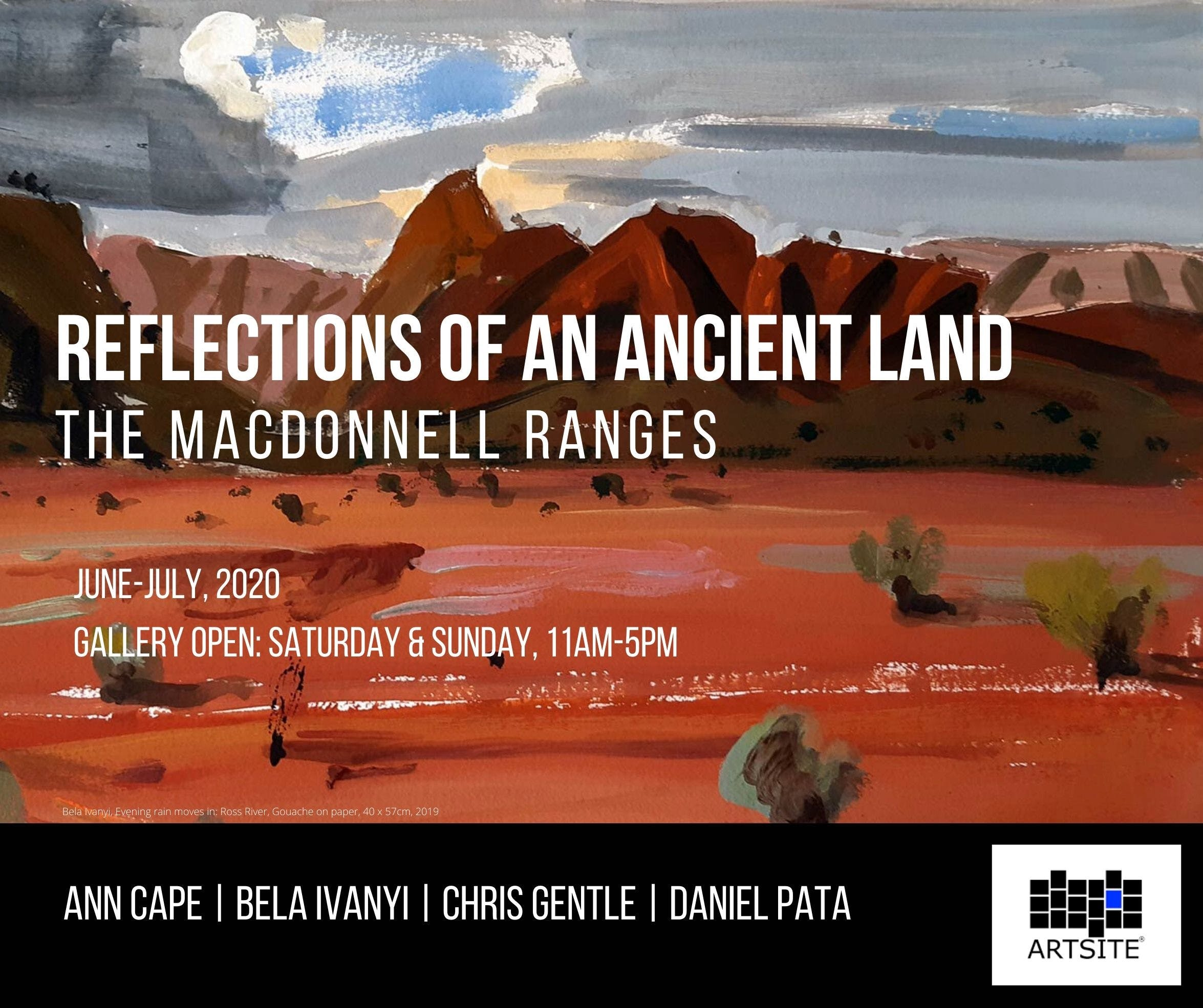 Reflections of An Ancient Land The MacDonnell Ranges - Accommodation Tasmania