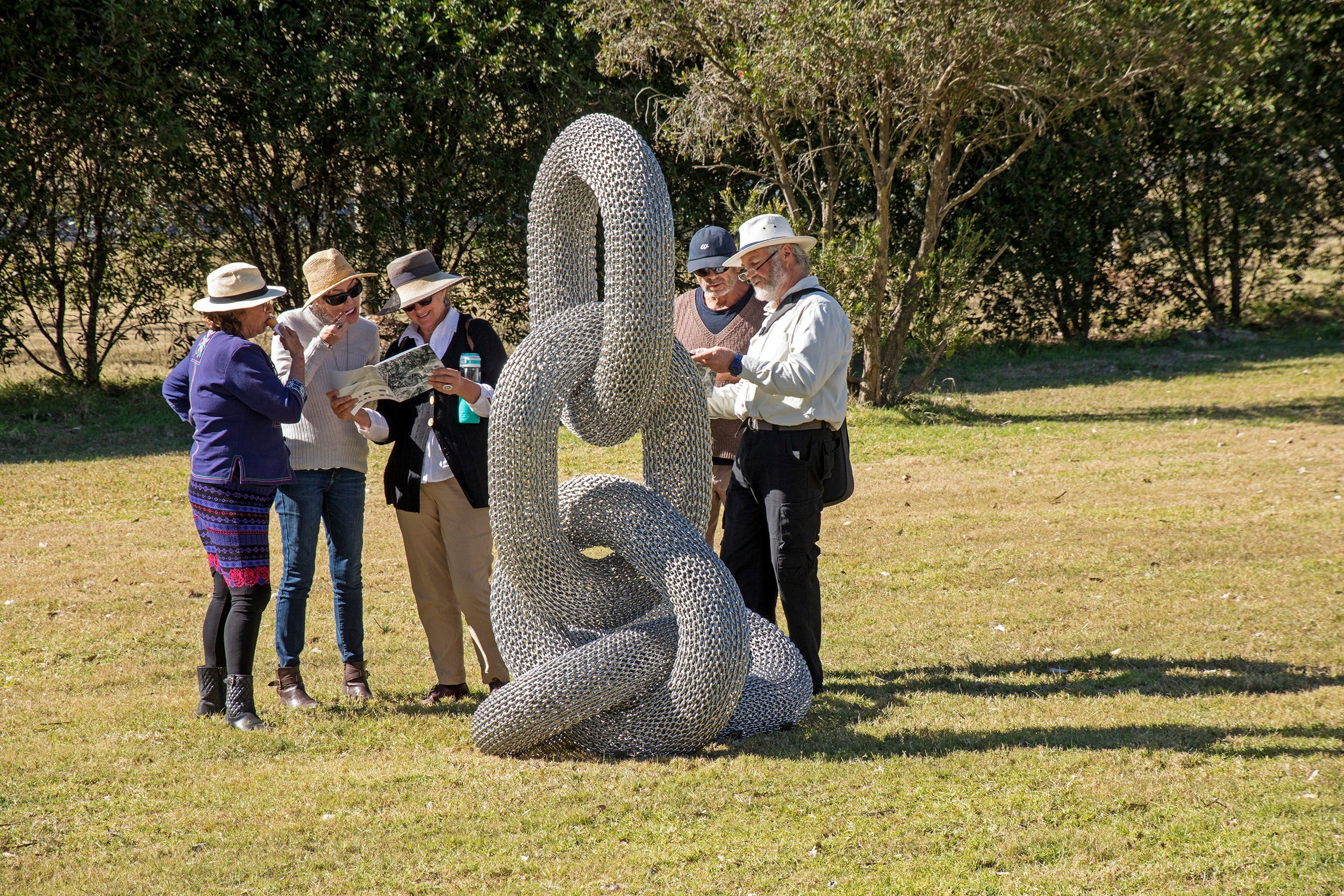 Sculpture for Clyde - Outdoor Exhibition - Accommodation Tasmania