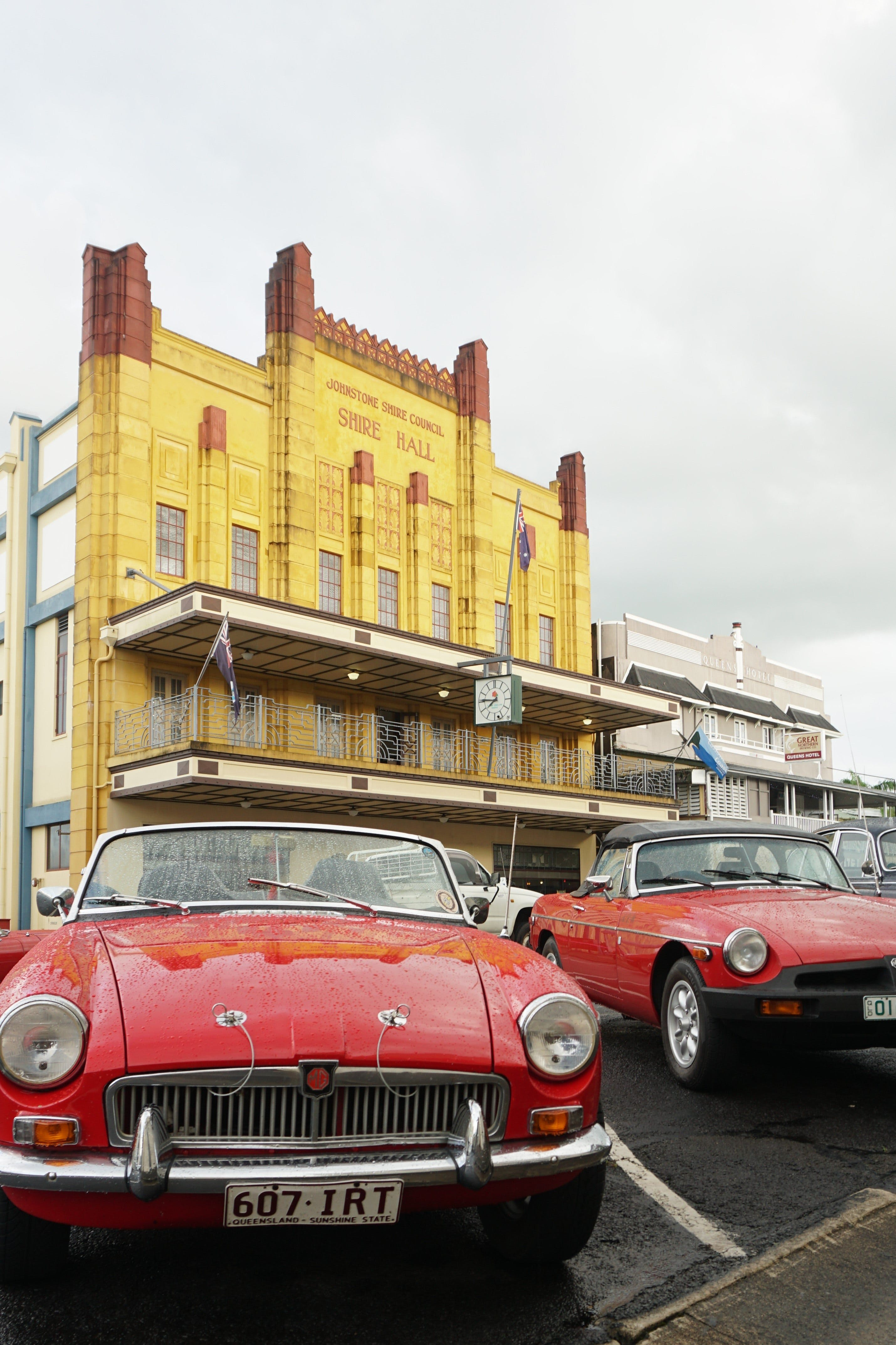 Tour de Cassowary - Classic Car Tour - Accommodation Tasmania
