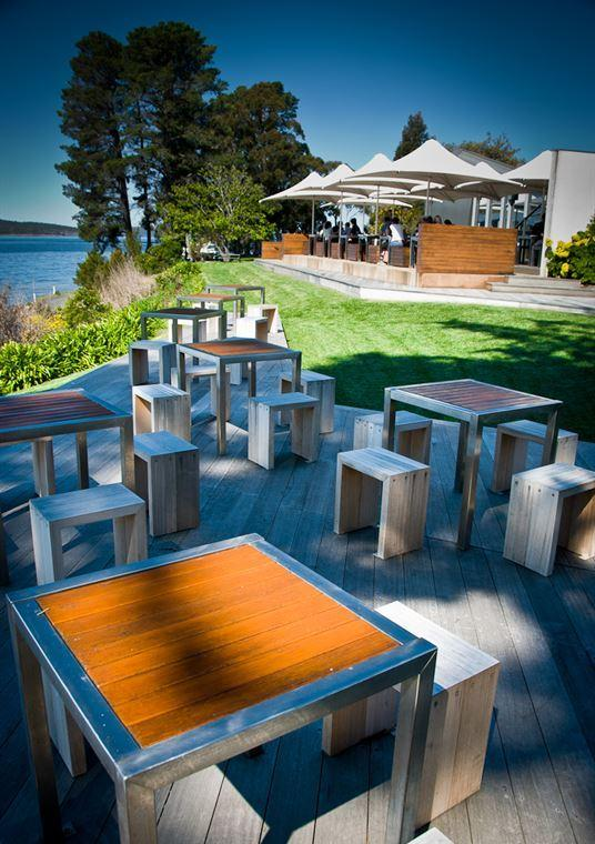 Peppermint Bay - Bar Dining and Terrace - Accommodation Tasmania