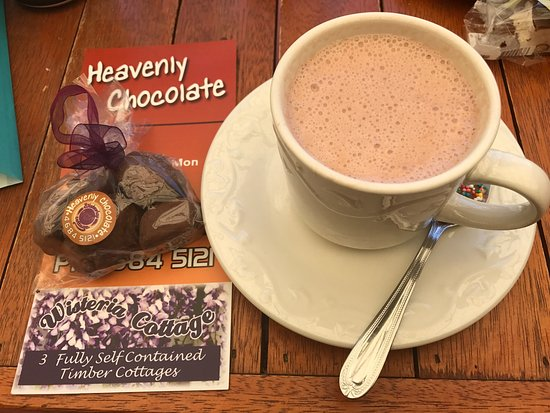 Stanthorpe's Heavenly Chocolate at Wisteria Cottage - Accommodation Tasmania