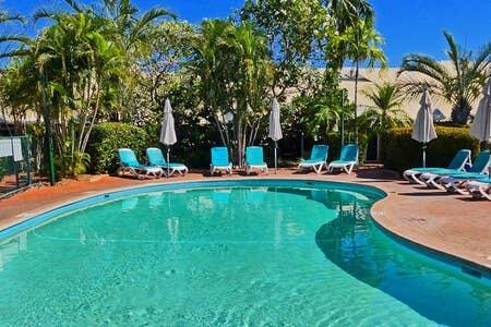 Cable Beach 1 bed RESORT apartment private Wifi - Accommodation Tasmania